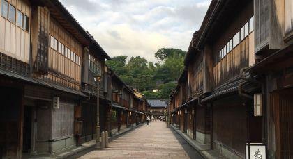 Kanazawa in Japan