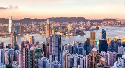 Destination Hong Kong in China