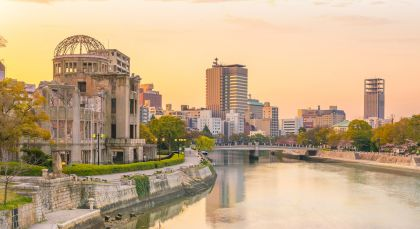 Destination Hiroshima in Japan