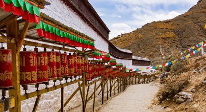 Shigatse in Tibet