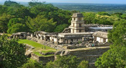 Destination Palenque in Mexico