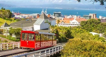 Destination Wellington in New Zealand