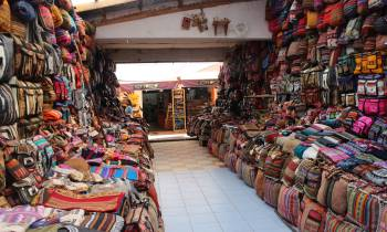Pisac market Sacred valley Peru trip september