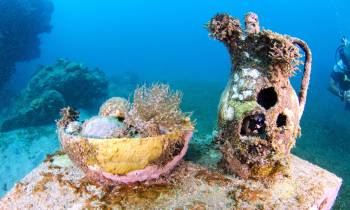 underwater sculptures grenada tourism authority
