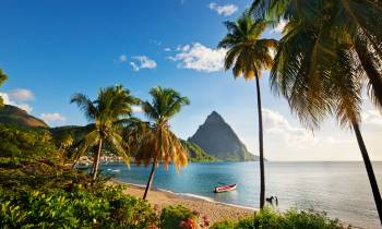 Soufriere seafront