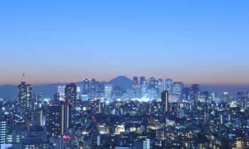 a large city landscape