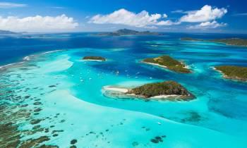 Tobago Cays Aerial View