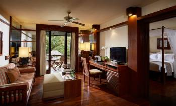 this is a photo of The Level Romance Suite at Melia Bali Indonesia