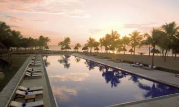 Swimming Pool Sunset