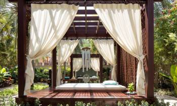 Talise Spa Secret Garden cabana