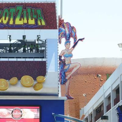 Slot Zilla on Freemont Street