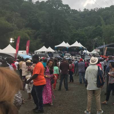 Blue Food Festival at Bloody Bay