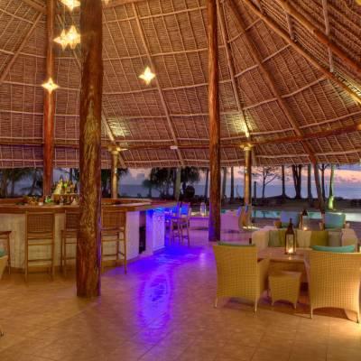 Beach Resort bar at night