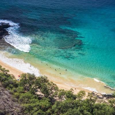 Makena state beach park