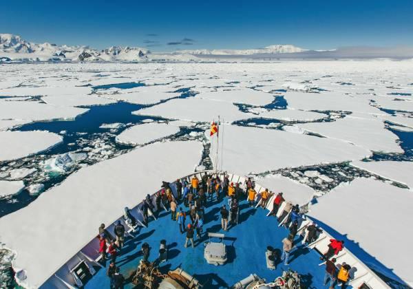 Antarctica Bridge View David Merron
