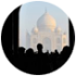 Enchanting Travels Guest in Taj Mahal tour