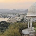 Traumhafter Ausblick von Udaipur