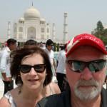 Enchanting Travels Guest traveled to India, Taj Mahal - Terry Runka
