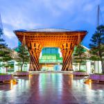 Enchanting Travels Guest - Traveled to Japan, Asia - Drum Gate of Ne Kanazawa Station - Coenraad van der Poel