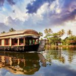 Alleppey (Alappuzha) Hausboot auf den Kerala Backwaters