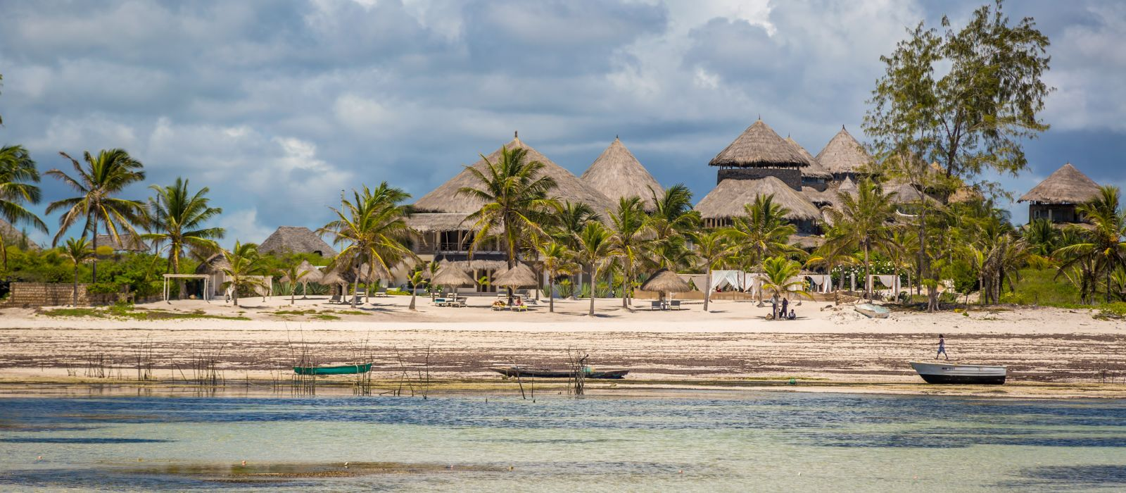 Beautiful beach in Watamu, north shore of Kenya, East Africa