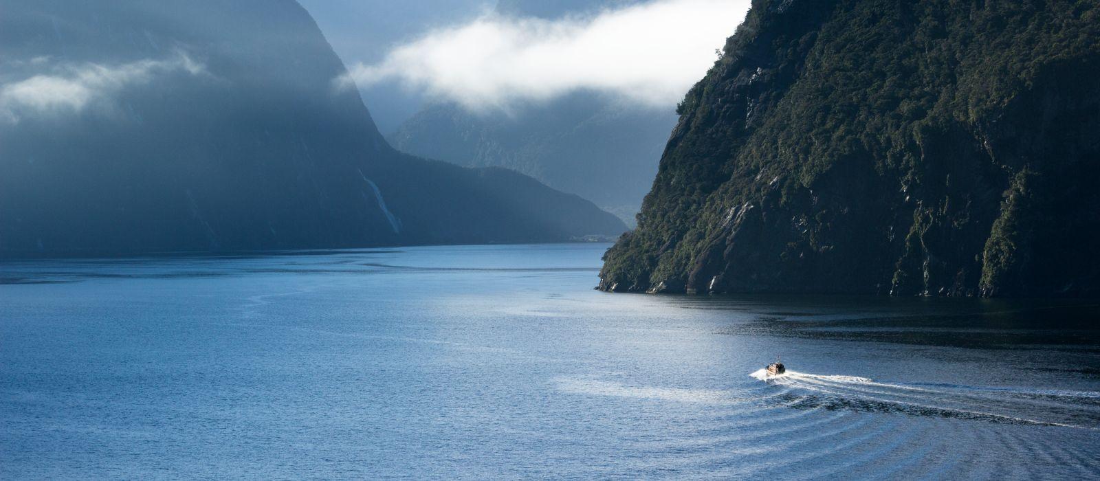 Milford Sound Fjordland, New Zealand, South Island, New Zealand