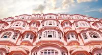 Rajasthan: Jaipur - Palace of Enchanting Travels North India Tours Winds beams up at the sky