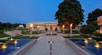 Exterior view of The Oberoi Sukhvilas Spa Resort in Chandigarh, North India