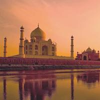 View of Taj Mahal Agra
