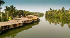 House Boat Kumarakom Kerala India