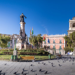 Enchanting Travels Bolivia Tours Plaza Murillo, Bolivian Palace of Government and Metropolitan Cathedral - La Paz, Bolivia