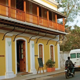 Enchanting Travels - South India Tours - Pondicherry - Palais De Mahe - Outside