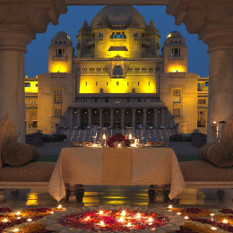 Umaid Bhawan Palace/Jodhpur/India