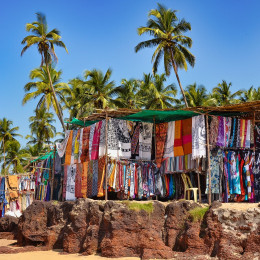 Enchanting Travels India Tours Goa Anjuna Market