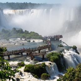 Iguazu Falls - Brazil - Things to do in South America