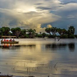 Selous Hotels - Lake Manzi Camp Selous - Boat Safari 8