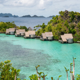 diving resort in the Raja Ampat, Indonesia, Asia