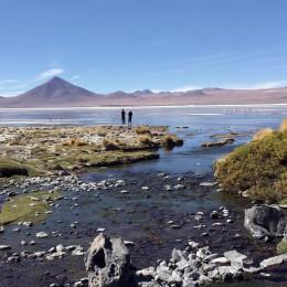 Unendliche Schönheit von Uyuni Bolivien, Südamerika