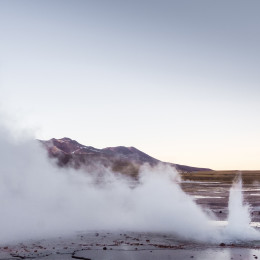 El Tatio geysers, near San Pedro de Atacama, Chile, South America