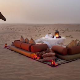 Dinner in the desert, Dubai