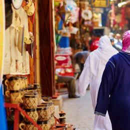 Things to do in Morocco - a souk