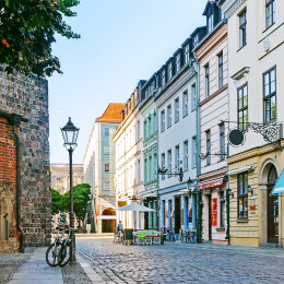 A cozy street in Berlin, Germany Tours