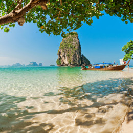 Enchanting Travels Thailand Tours Railay beach in Krabi, Thailand,
