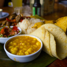 Enchanting Travels Costa rica Tours Casado de Res - typical Costa Rican food