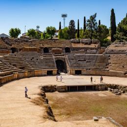 Roman ruins in Spain