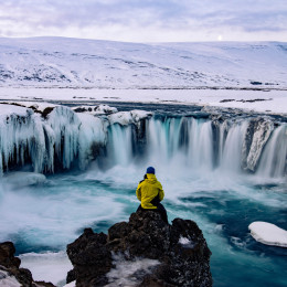 Godafoss is one of the most spectacular waterfalls in Iceland - best time to visit Europe