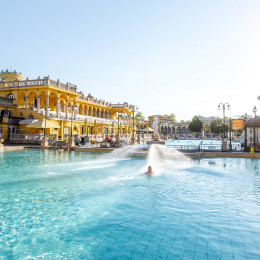 Things to do in European Capitals - Szechenyi-outdoor-thermal-baths