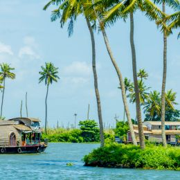 Houseboat, Alleppey, Kerala, South India