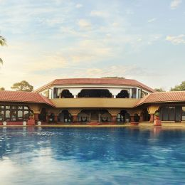 Pool at Taj Fort Aguada Resort & Spa Hotel in Goa, Central- & West India