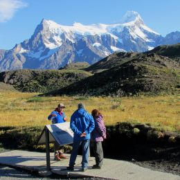 Hiking, Patagonia, Torres del Paine, Chile, South America